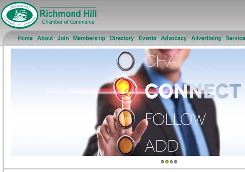 Richmond Hill Chamber of Commerce website